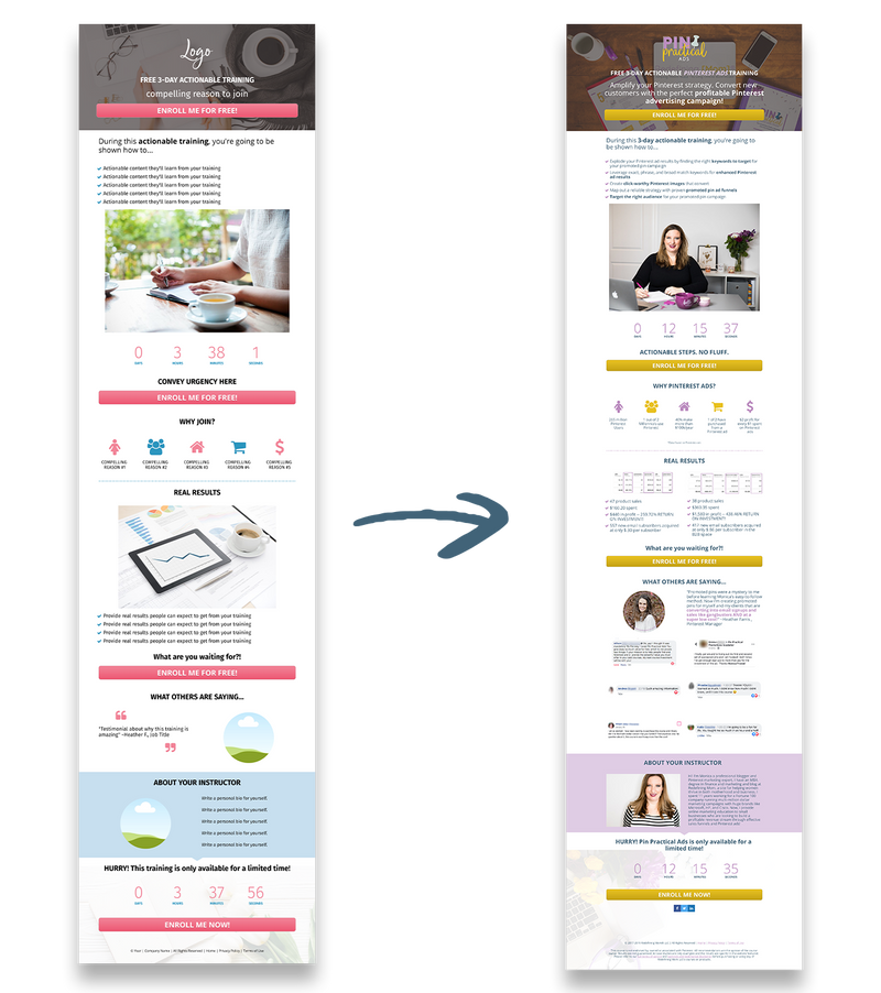 Practical Funnels™ Leadpages Templates: Foundations Pack