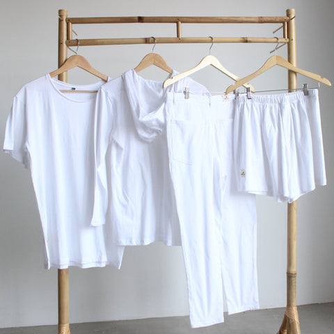 KindFamily White Clothing Outfit