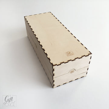 Wooden box compatible with Arkham Horror: The Card Game - Return to...
