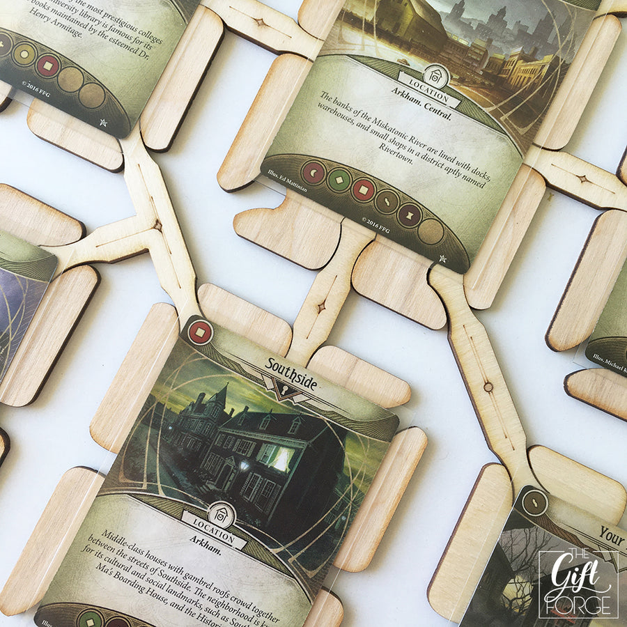 Map builder compatible with Arkham Horror: The Card Game