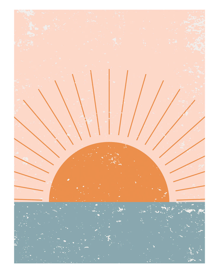 Sunrise Vertical Print