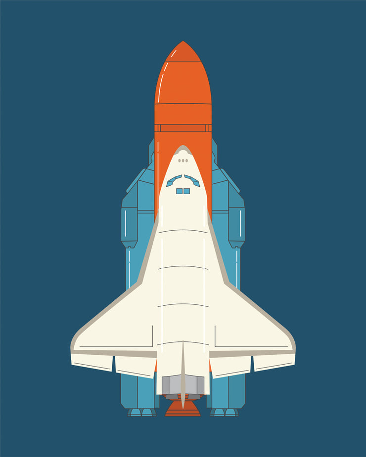 Ready for Takeoff! Vertical Print