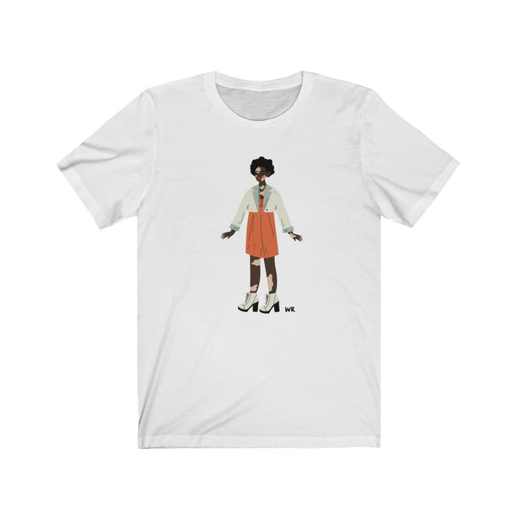 Women of WR, Vitiligo Beauty Tee