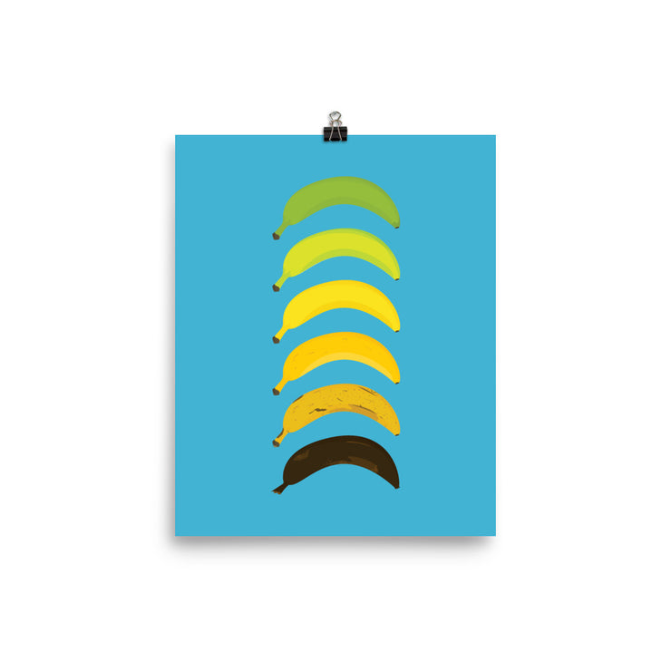 Lifecycle of a Banana Vertical Print