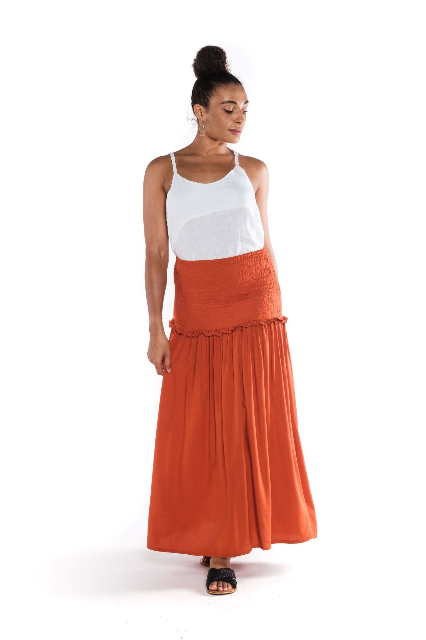 Asmara Butik Skirt Nia And Top linen Top Women's Wear made in Indonesia Eclectic Fashion Bali made & sourced in Indonesia