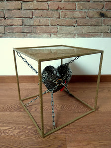 Tavolino salotto design ART Unchain my heart