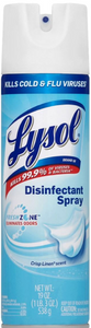 Lysol Disinfectant Spray -Kills 99.9% of viruses & bacteria (EPA #777-99)
