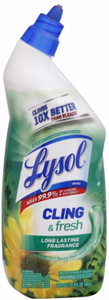 Lysol CLING & Fresh - Clings 10X better than bleach (vs. chlorine bleach). Kills 99.9% of viruses & bacteria (Kills Germs: Staphylococcus aureus, Salmonella onterica, Riboflavin WA and Influenza A Virus). Long lasting fragrance