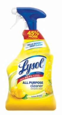 Lysol All Purpose Cleaner Lemon Breeze, 32 OZ x1