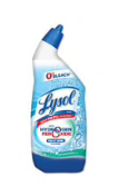 Lysol Bleach Free Hydrogen Peroxide Toilet Bowl Cleaner, Ocean Fresh, 24oz x1