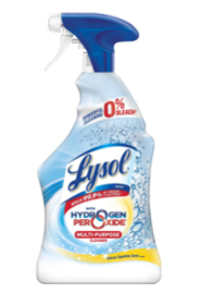 Lysol Bleach Free Hydrogen Peroxide Multi-purpose Cleaner, Citrus 22oz x1