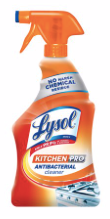 Lysol Kitchen Pro Antibacterial Cleaner , 22 oz. x1  - Kills 99.9% of bacteria, including Salmonella & E Coli