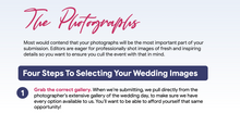 Load image into Gallery viewer, Real Wedding Submission Bundle for Venues