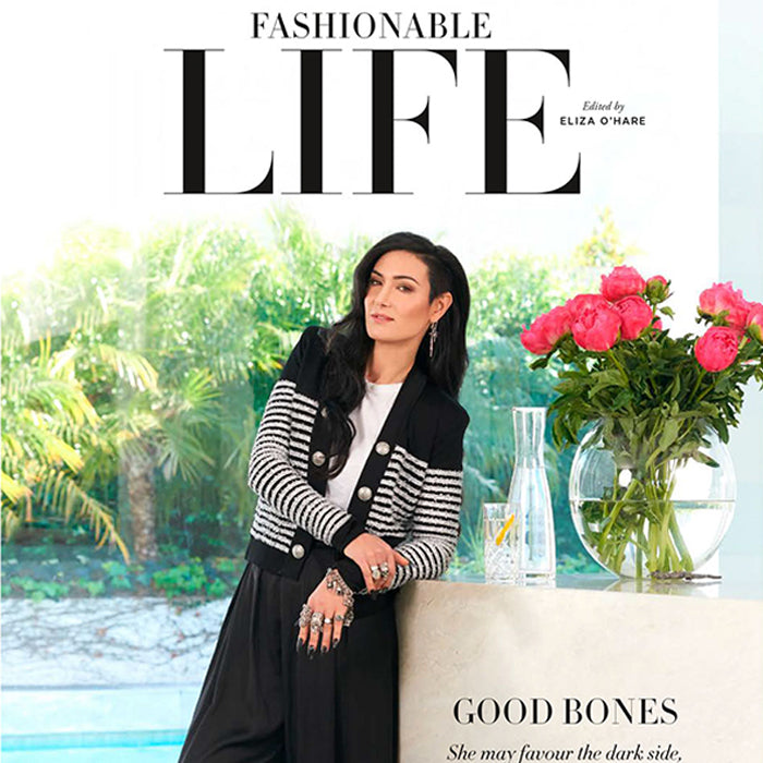'Good Bones': Emma Abrahams featured in Harper's Bazaar