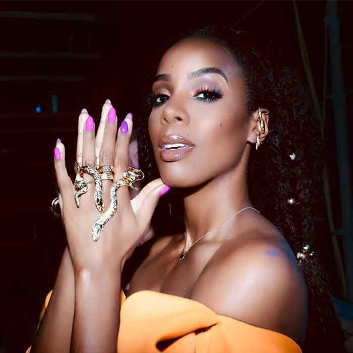 Kelly Rowland wears Heart of Bone