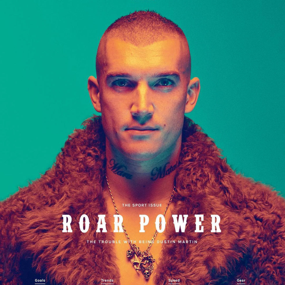 Roar Power: Dustin Martin in Heart of Bone
