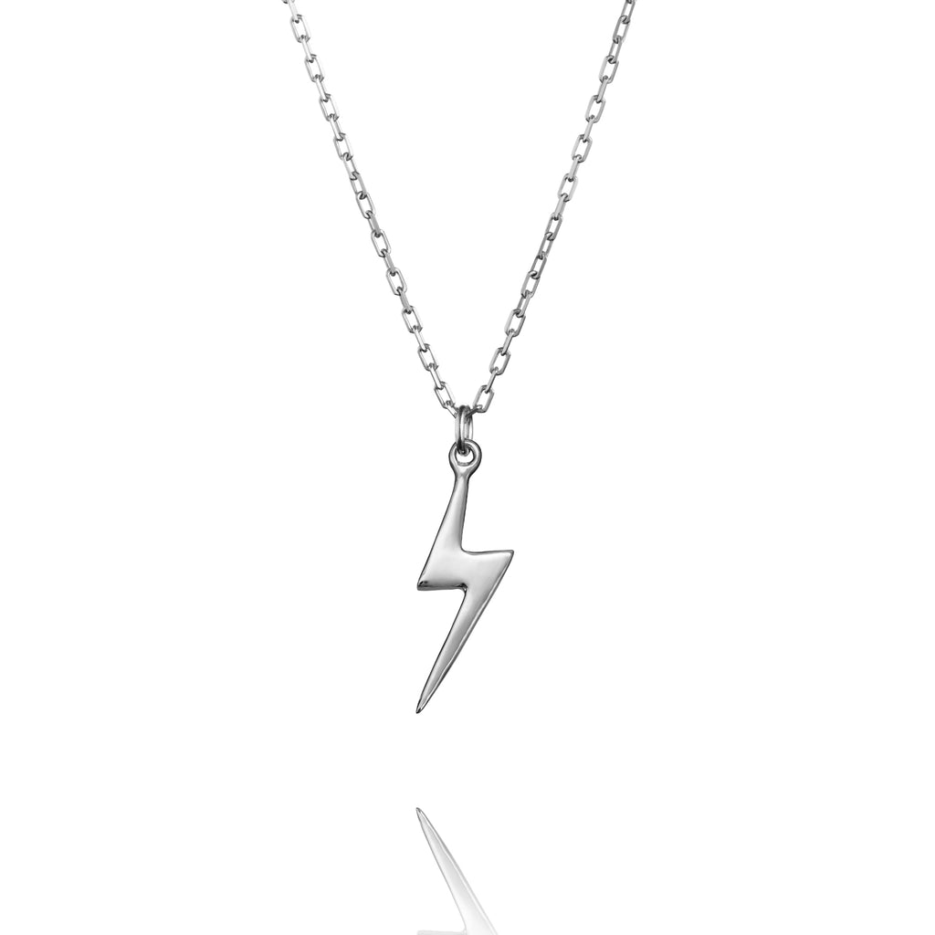Lightning Charm Anchor Necklace