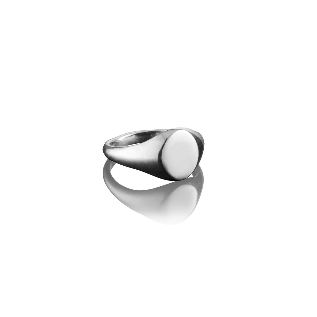 Small Oval Signet Ring