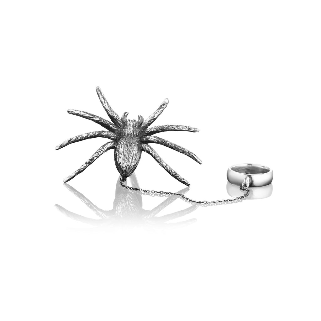 Pet Spider Ring
