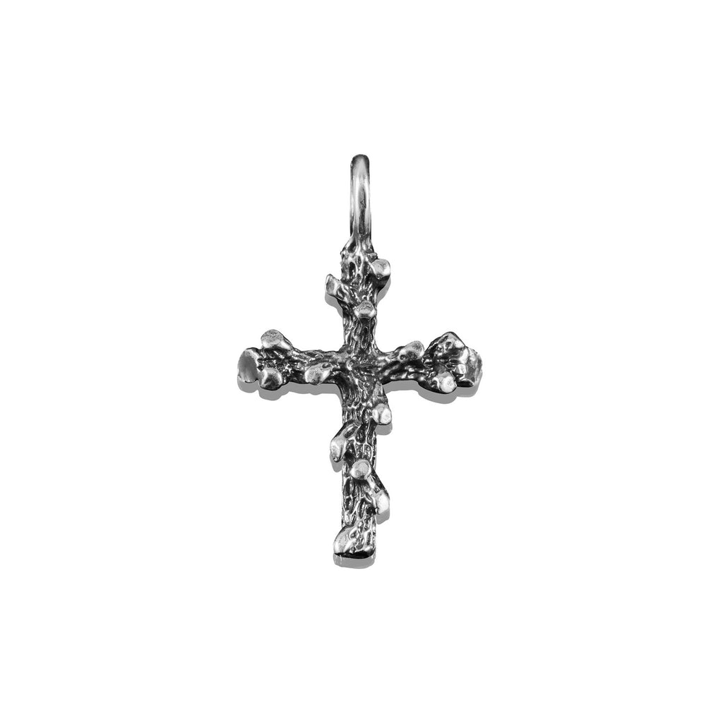 Poison Ivy Cross Charm