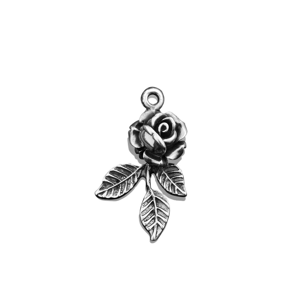 Tattoo Rose Charm