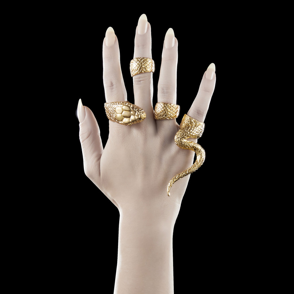 Serpent Ring Set