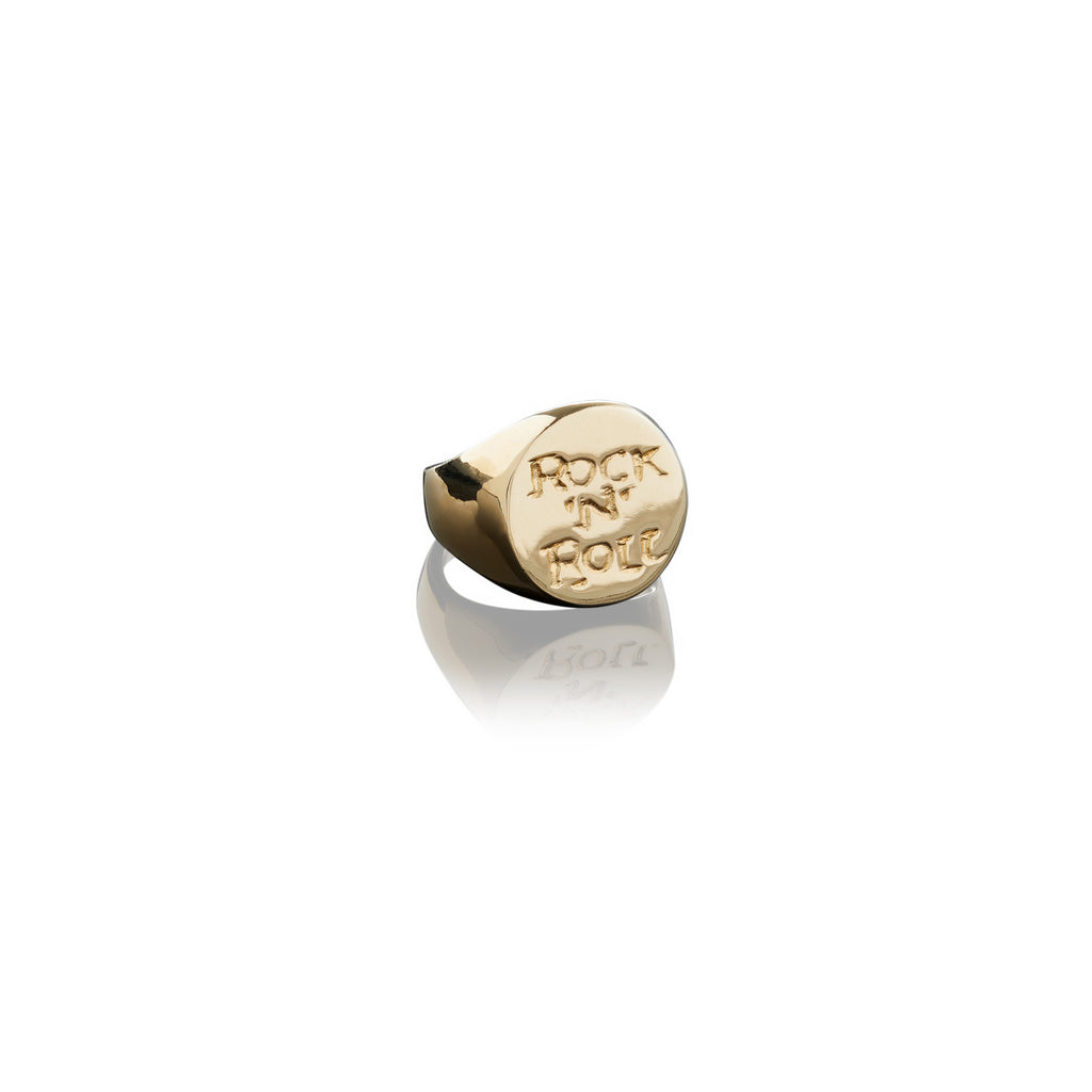 Rock N Roll Signet Ring