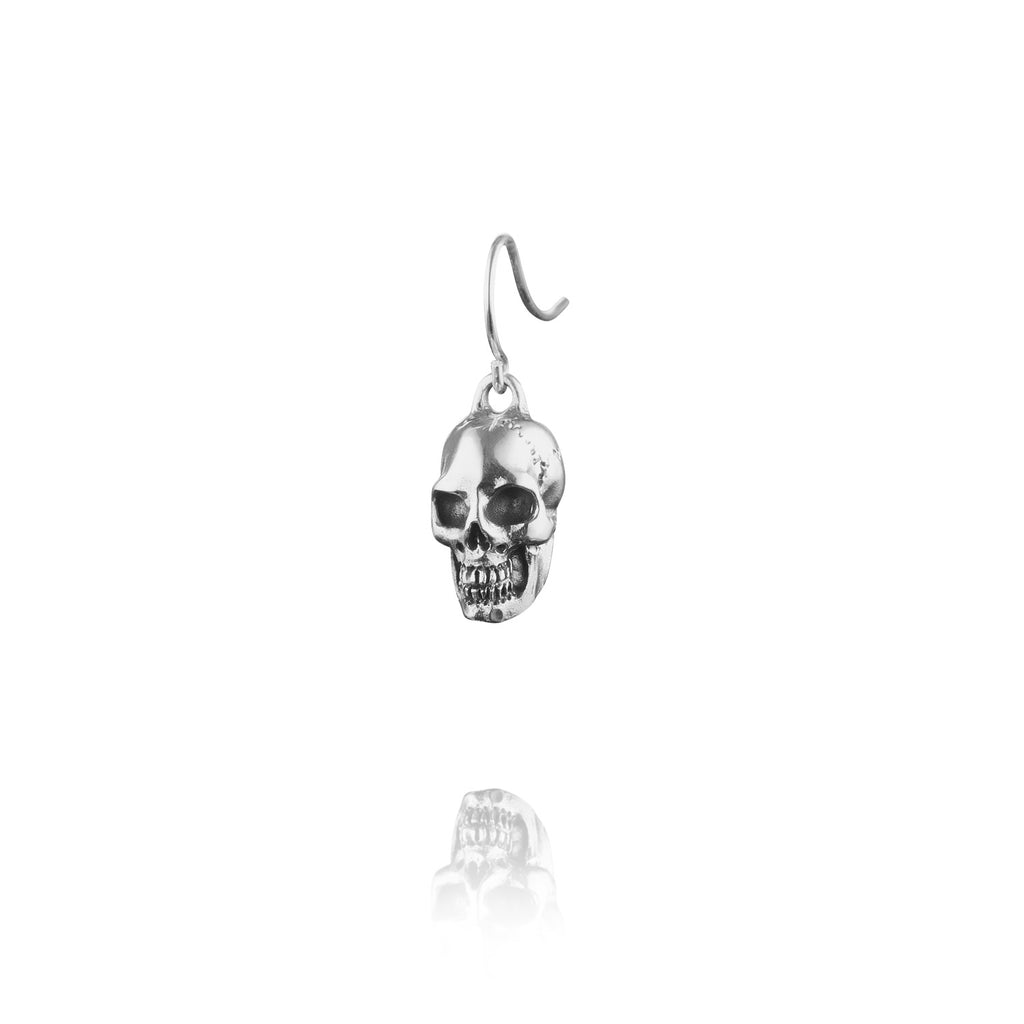 Skull Drop Earring