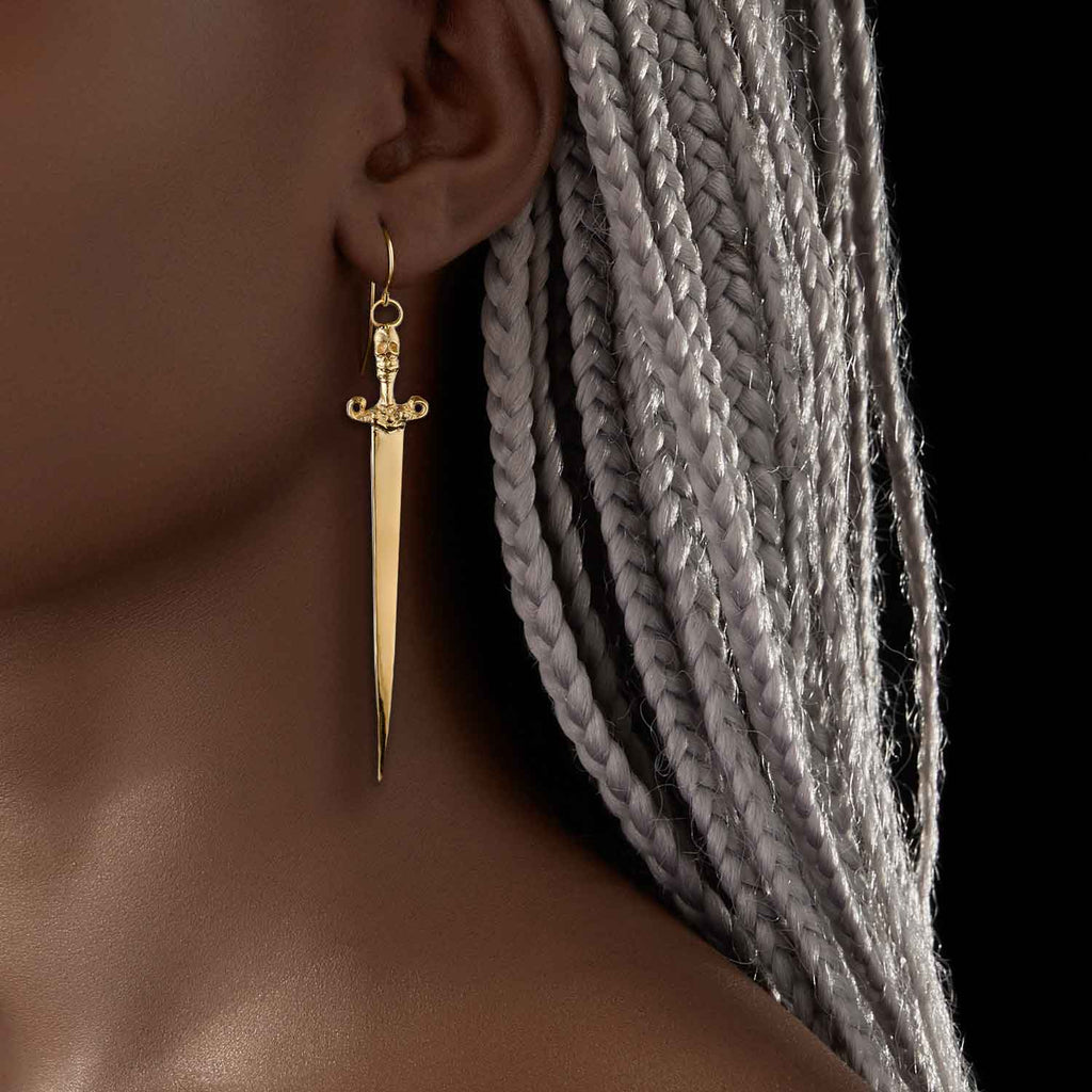 Slayer Earring 18k Gold