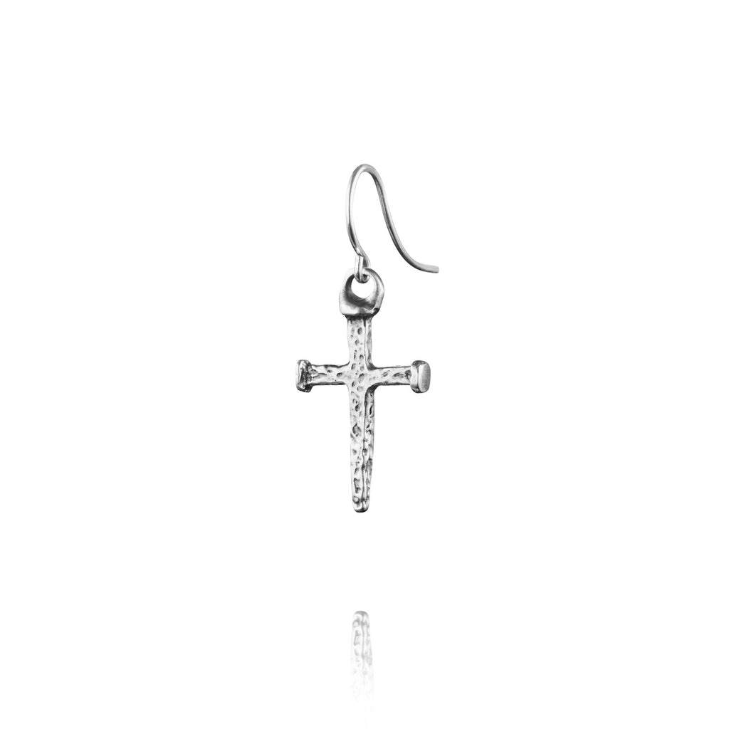 Twilight Cross Earring
