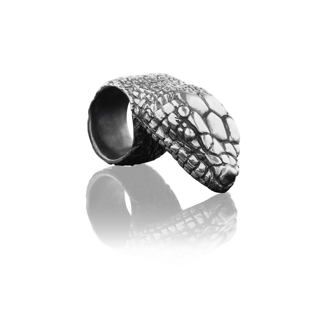 Serpent Head Ring