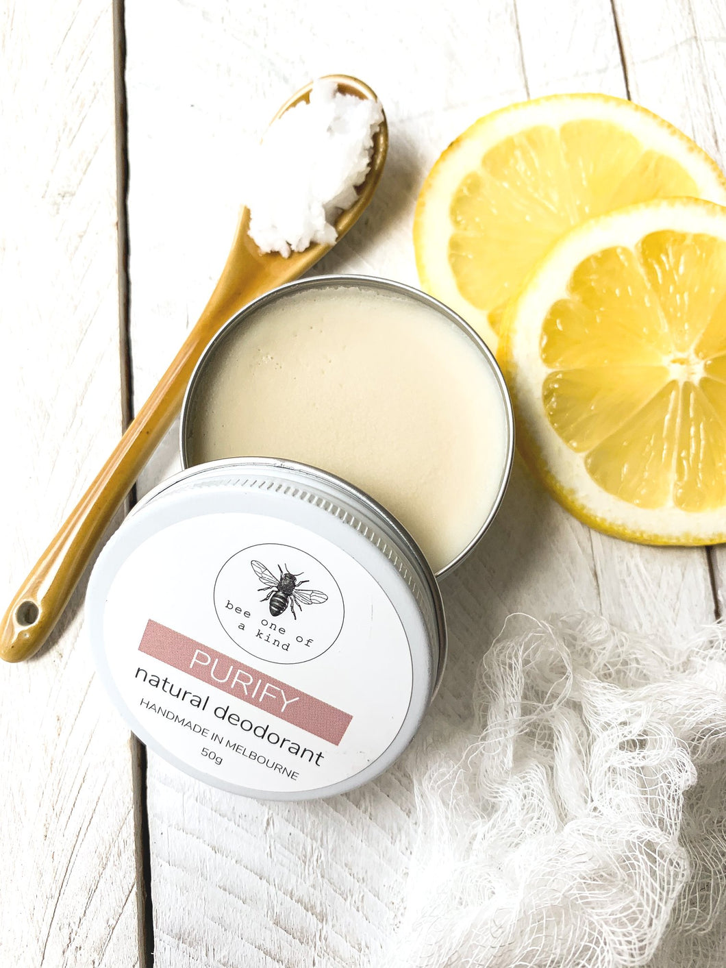 PURIFY natural deodorant