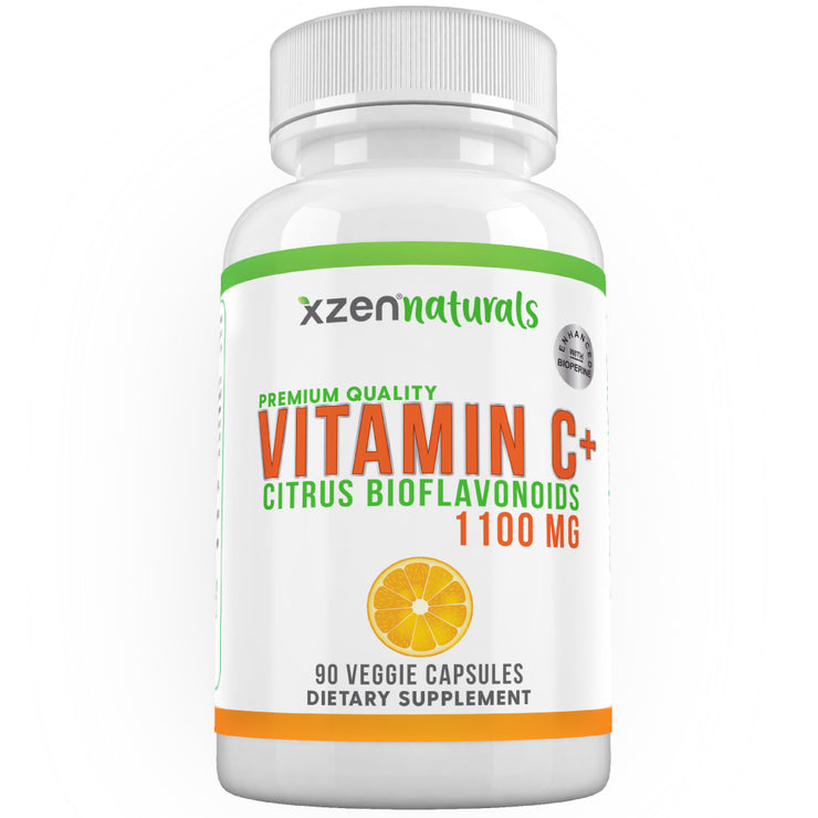 Vitamin C+ 90 Veggie Capsules - XZEN by GX8 Labs Inc