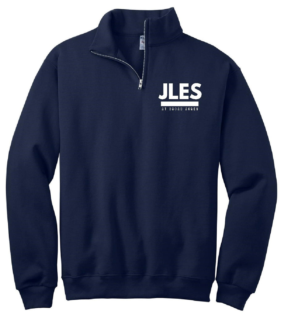 Navy Blue 1/4-Zip Sweatshirt