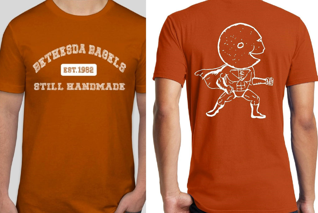 Bethesda Bagels Deep Orange Tee