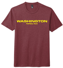 Burgundy Washington Football Team Shirt