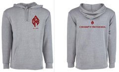 CrossFit Bethesda Men's Hooded Sweatshirt (Grey)