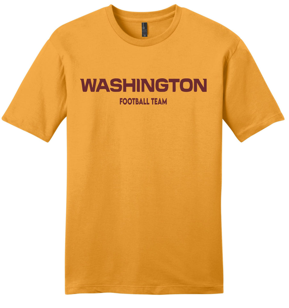 Gold Washington Football Team Shirt