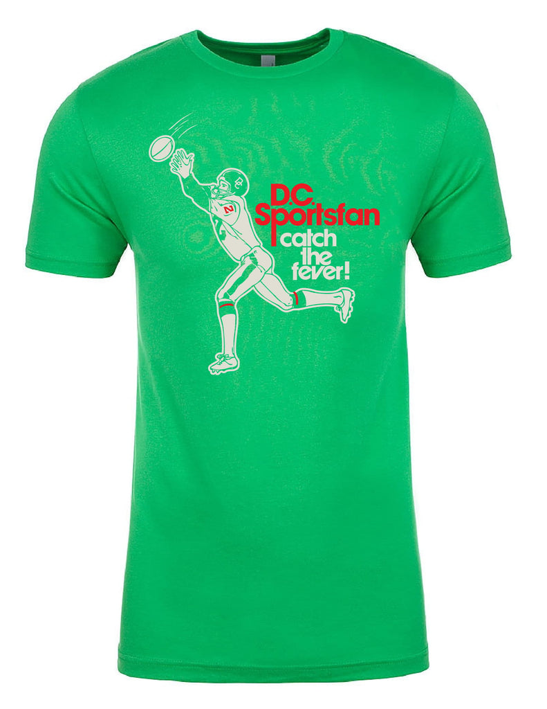 Catch the Fever -- Irish Green Tee