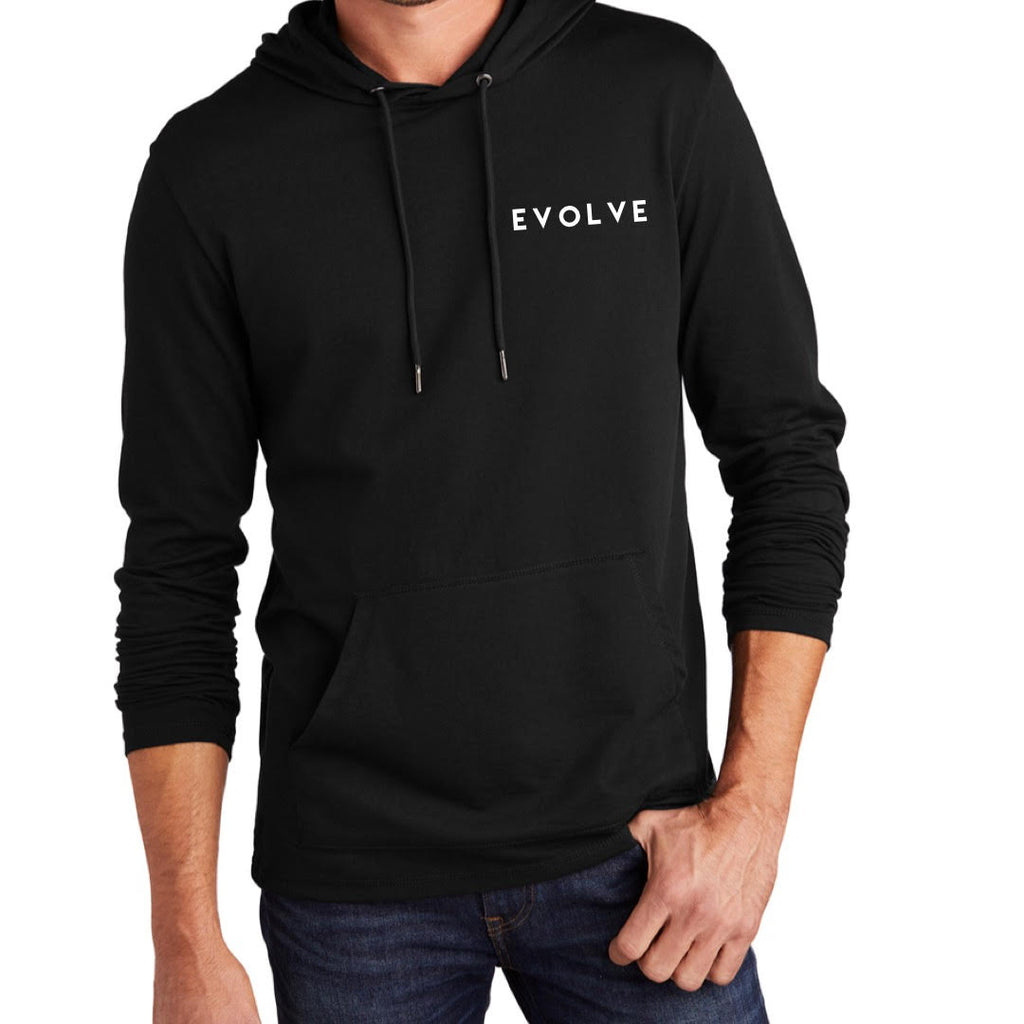 Black Evolve Playmaker District Featherweight French Terry Hoodie