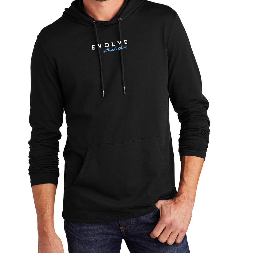 Black Evolve District Featherweight French Terry Hoodie