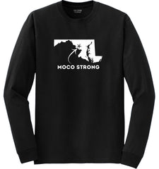 MoCo Strong Black Long Sleeve Tee