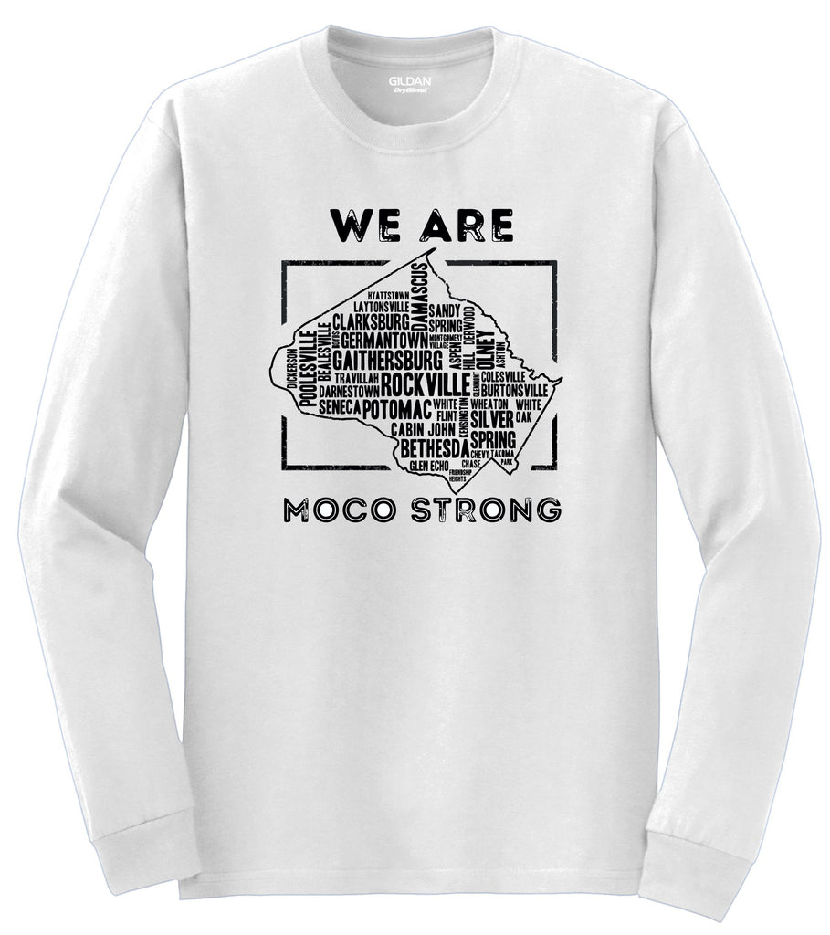 MoCo Strong White Long Sleeve Tee