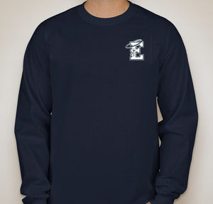 St. E's Navy Blue Championship Long Sleeve Tee