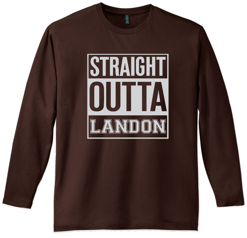 Straight Outta Landon Long Sleeve Tee