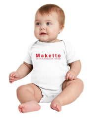 Maketto Fundraising Onesie