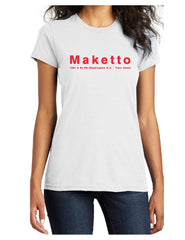Maketto Ladies Fundraising Tee