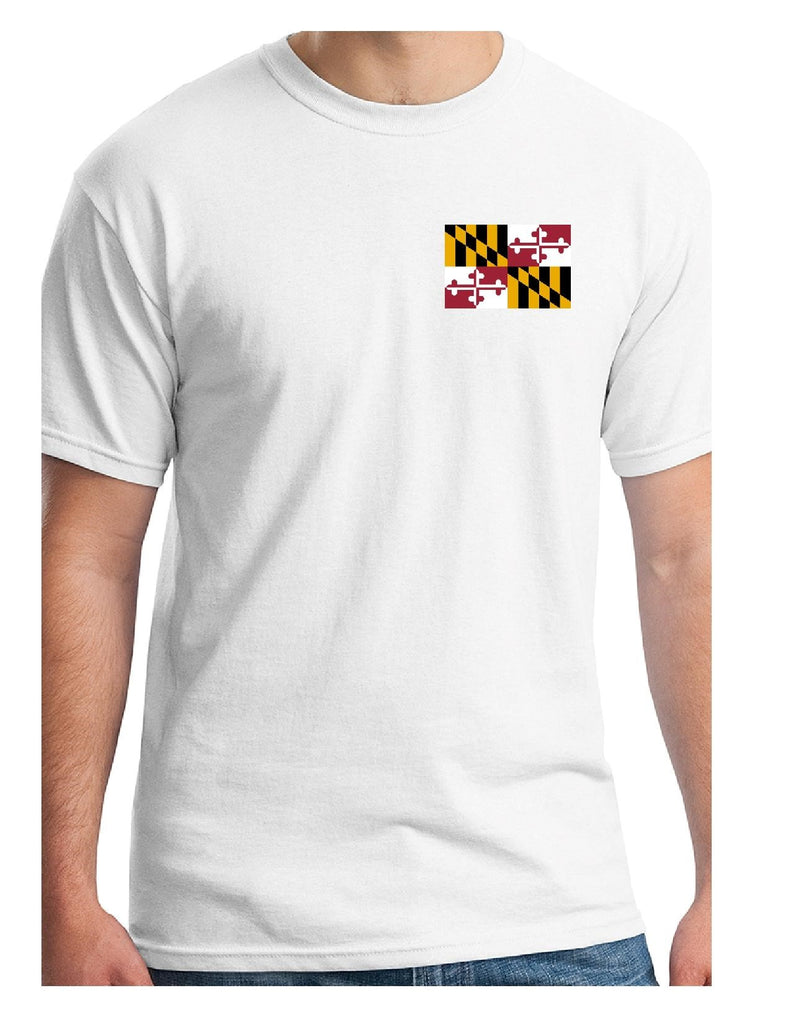 Maryland Flag Short Sleeve Tee