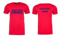 Shady Grove Strength Red Member Tees