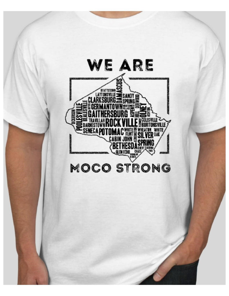 MoCo Strong White Short Sleeve Tee